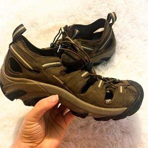Keen Arroyo II Hiking Shoes Brown Waterproof